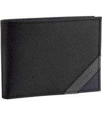 samsonite shaded rfid bi-fold wallet with zip pocket