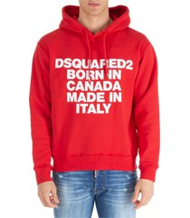 dsquared2 born in canada made in italy hoodie