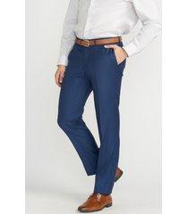 pantalón formal liso azul perry ellis