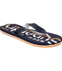 classic scuba flip flop shoes summer shoes flip flops blå superdry