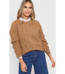 sweater marrón nano