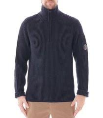 c.p. company turtle neck sweatshirt  total eclipse 155a-5292a 888