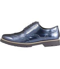 skor med hålmönster fitters footwear marinblå