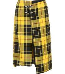 rokh tartan skirt