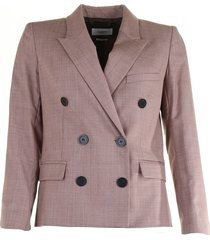 isabel marant blazer visby roze