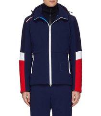 'supercorde' colourblock ski jacket