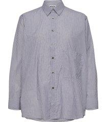 elma shirt långärmad skjorta blå hope