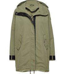 øydjorda casual coat parka lange jas jas groen skogstad
