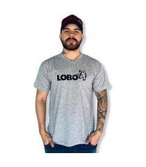 camiseta lobo street masculina