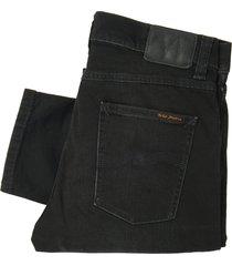 nudie jeans black star lean dean denim jeans 112650