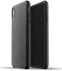 etui full leather iphone xs max black