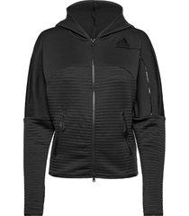 w zne a h c.rdy hoodie trui zwart adidas performance