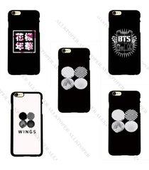 kpop bts wings phone case bangtan boys in bloom cellphone cover jung kook jimin