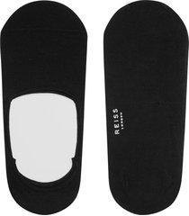 reiss shortie - short socks in black, mens