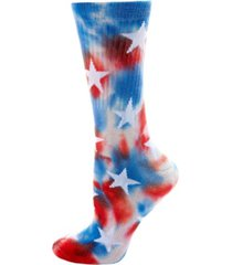 americana ribbed half cushion women's crew socks with arch support
