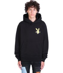amiri sweatshirt in black cotton