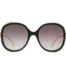 óculos de sol gucci gc001102 gg0226s feminino