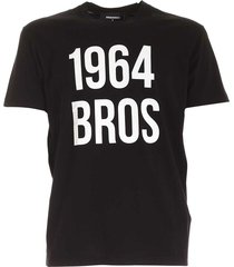 contrasterende print t-shirt