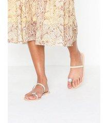 nly shoes diamond toe strap sandal sandaler