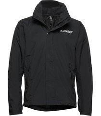 ax jkt outerwear sport jackets zwart adidas performance