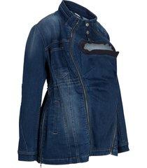 giacca prémaman di jeans con inserto babywearing (blu) - bpc bonprix collection