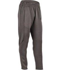 pantalón gris converse wordmark corey pants