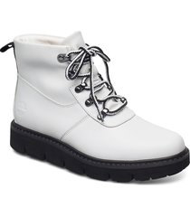 raewood alpine hkr whi shoes boots ankle boots ankle boot - flat vit timberland
