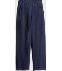 pantalon plizado unicolor-12
