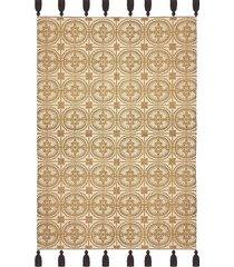 dywan bawełniany mozaika gold 60x90 cm