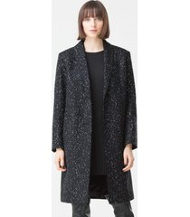 płaszcz w delikatny wzór