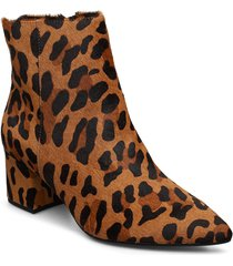 omarii shoes boots ankle boots ankle boots with heel brun dune london