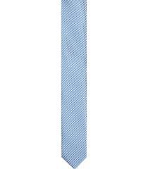 krawat platinum niebieski classic 231