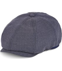 stetson men's herringbone newsie cap