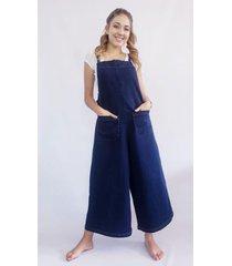 jardinera charly azul santissima jeans