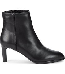 delilah leather booties
