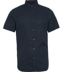 classic twill lite s/s shirt kortärmad skjorta blå superdry