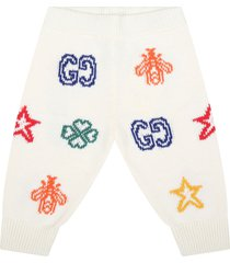 gucci ivory trouser for babykids