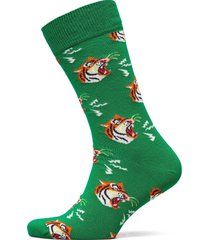 tiger sock underwear socks regular socks grön happy socks