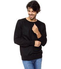 sweater  negro  wellington polo club