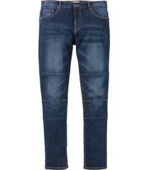 jeans elasticizzati regular fit tapered taglio comfort (blu) - john baner jeanswear