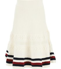 tommy hilfiger cricket cable knitted skirt