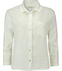 blouse gebroken wit
