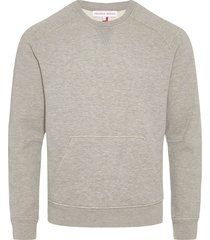 orlebar brown wilby sweatshirt - grey melange 269382m