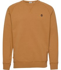 e-r basic regular crew sweat-shirt tröja orange timberland
