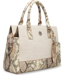anne klein women's soft satchel