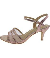sandalia   rosado via franca