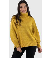 sweater beatle lana mujer boho amarillo enigmática boutique