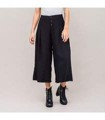 pantalon culotte talle alto yolyn
