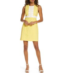 women's lilly pulitzer railee eyelet shift dress