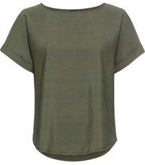 maglia bitessuto (verde) - bodyflirt